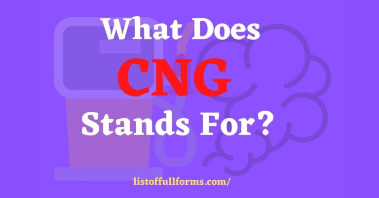 CNG full form is Compressed Natural Gas. Its an fuel and best alternative of diesel, petrol & LPG. Its more environment friendly gas.