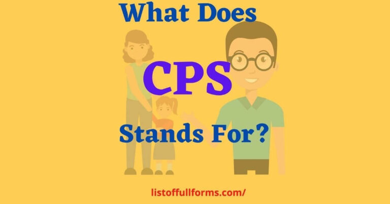 CPS Full Form