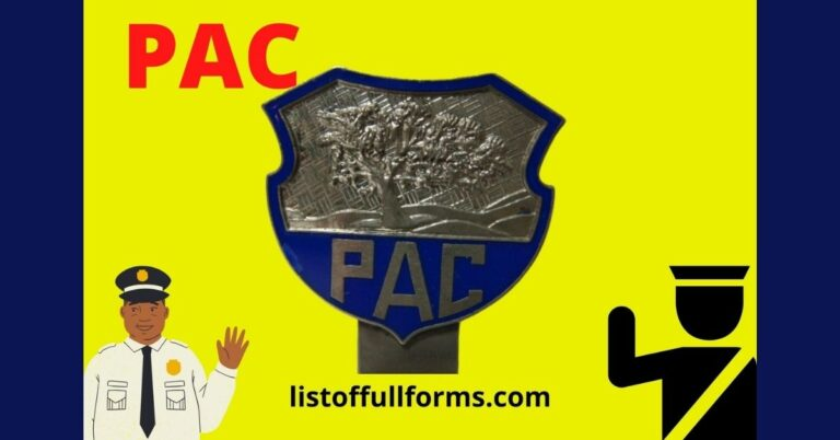 pac full form